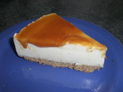 Cheesecake al caramello 11