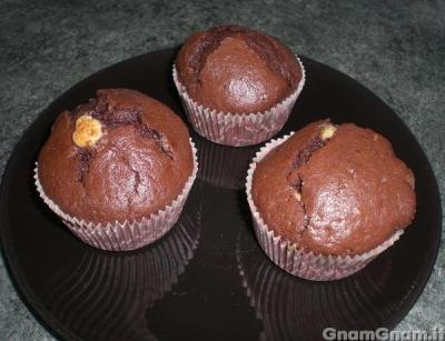 Muffin triple chocolate