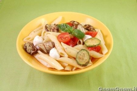 Insalata di pasta all'ortolana