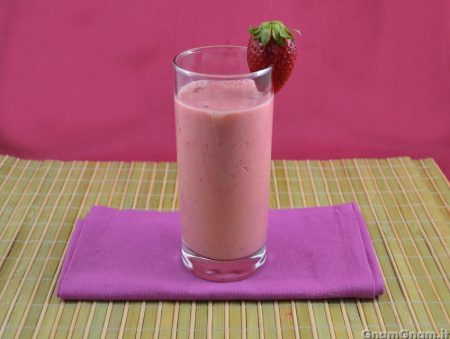 Smoothie alle fragole